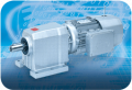 In-line helical gearmotors