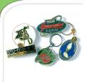Enamel badges and key rings