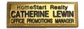 Gold plated metal name bars