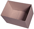 Half-slotted container (HSC)