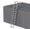 Mini Access Ladder with Angled Handrails