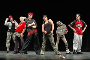 Order Hip Hop and Funk Dance Class