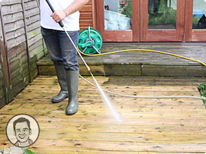 Order Pressure cleaning