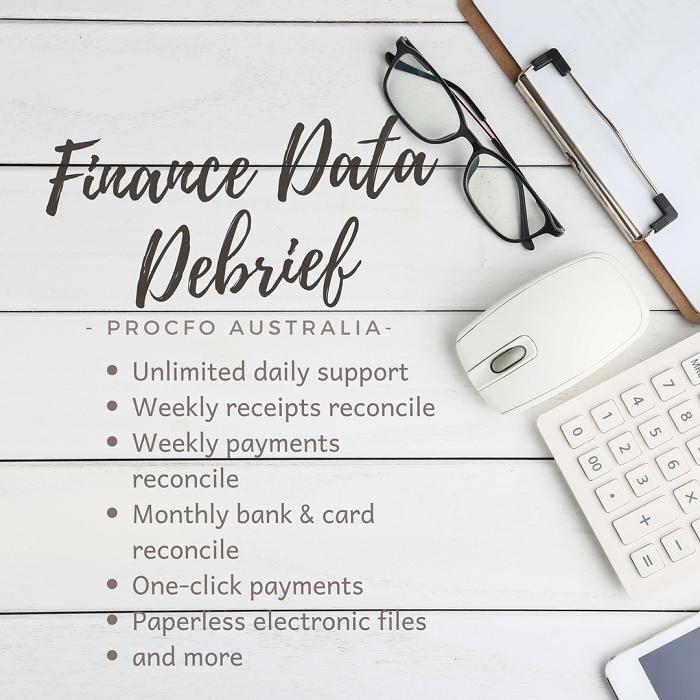 Order Finance Data Debrief