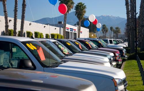 Order Used car buying