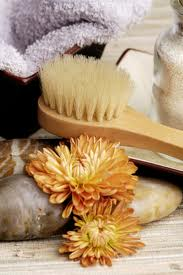 Dry Body Brush Exfoliation