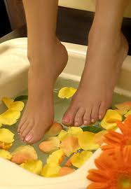 Order Spa pedicure