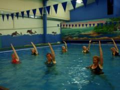 Aqua aerobic classes