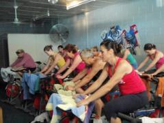 Studio Cycling Class