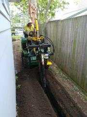 Trencher: Dig your trenches with ease, glides through hard soil and small tree roots