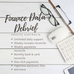 Finance Data Debrief