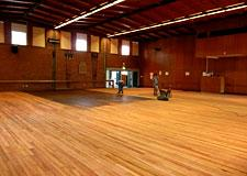 Sanding and finishing of all Parquetry &