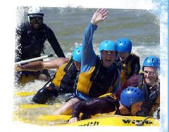 Guided Rafting