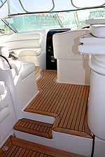 Updating boat interiors and exteriors in teak