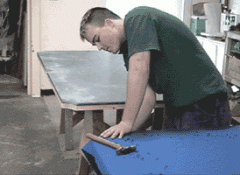 Replacing the Cloth on the Table